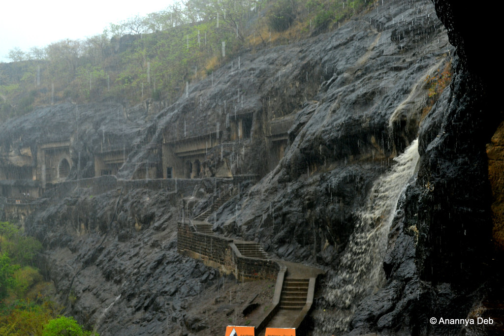 Ajanta Caves, July 2014