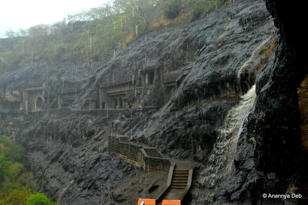 Ajanta Caves, July 2014