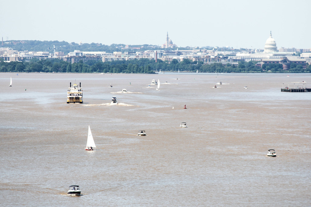 Potomac from Woodrow Wilson Bridge