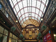 Central Arcade shopping alley in Newcastle