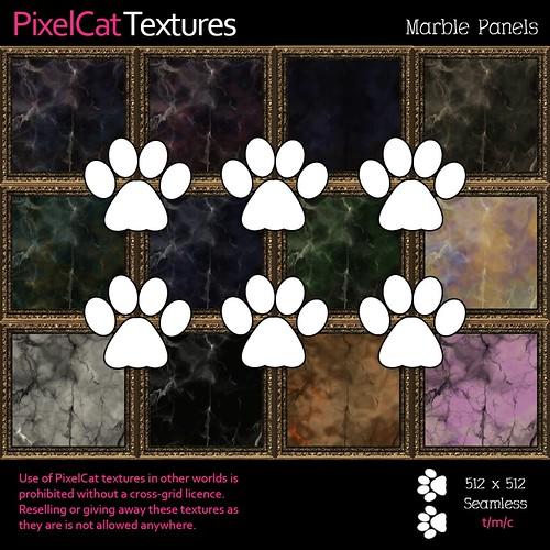 PixelCat Textures - Marble Panels