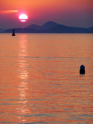 sunset sea sky mer clouds de soleil coucher croatia ciel nuages cavtat croatie hrvatska dalmatia dalmatie flickraward flickraward5