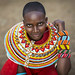 Rendille young woman,  Ngurunit, Kenya. by Eric Lafforgue