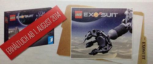 LEGO Ideas Exo Suit (21109) German Calendar Teaser