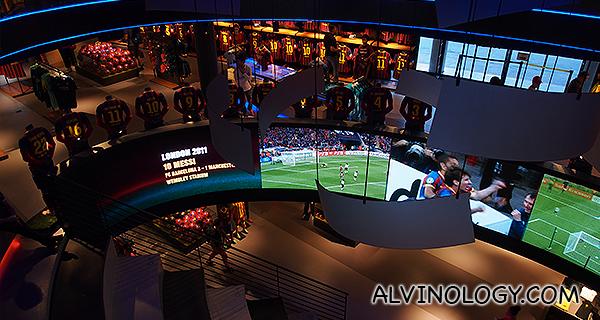 Retail dream for FCB fans