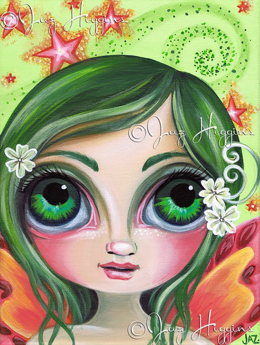"""Fairy Wishes"" painting by Jaz Higgins"