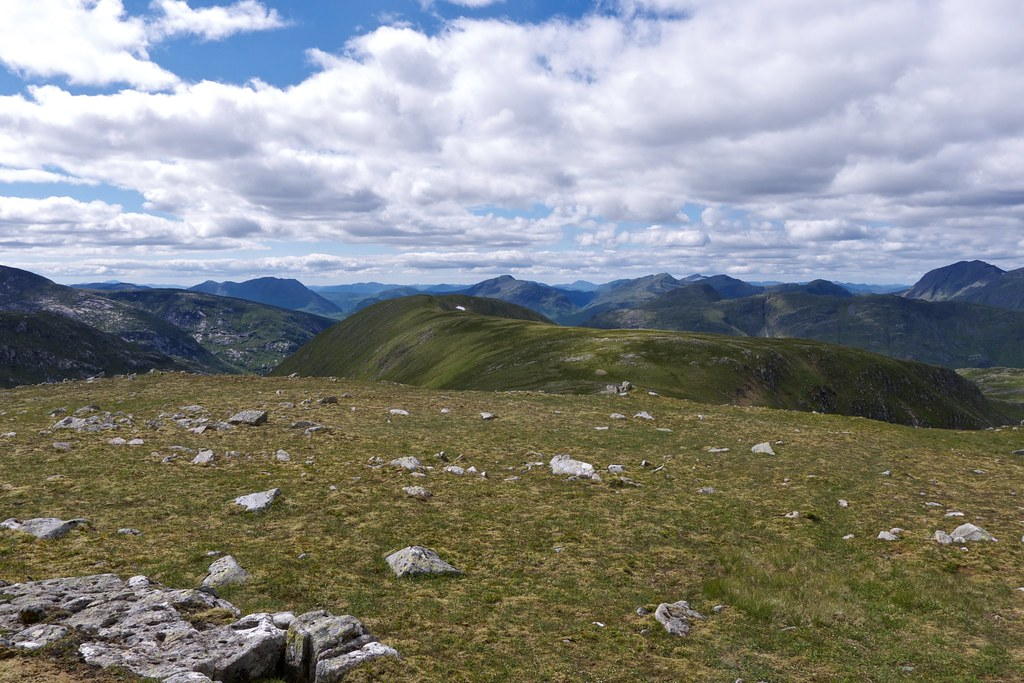 The Glen Etive hills