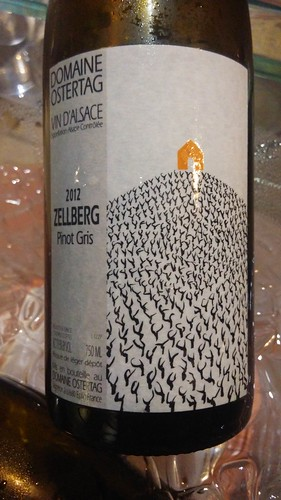 Domaine Ostertag 2012 Zellberg Pinot Gris