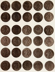 "Image from page 36 of ""Monograph of United States cents and half cents issued between the years 1793 and 1857: to which is added a table of the principal coins, tokens, jetons, medalets, patterns of coinage and Washington pieces, generally classified unde"