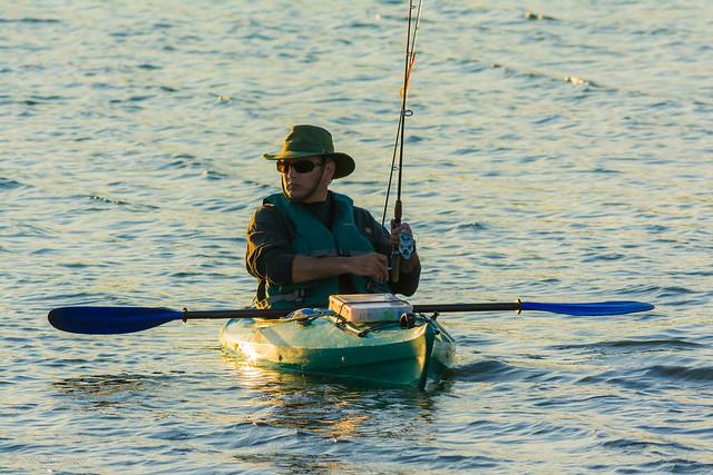 Fishing by kayak 2