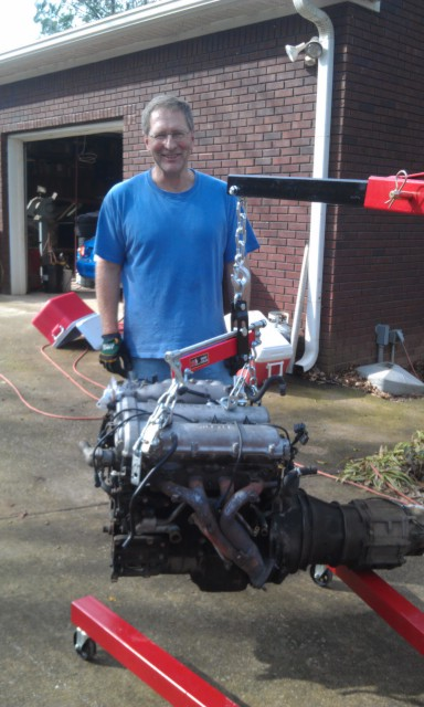 MM 00 EVO Engine Removal2