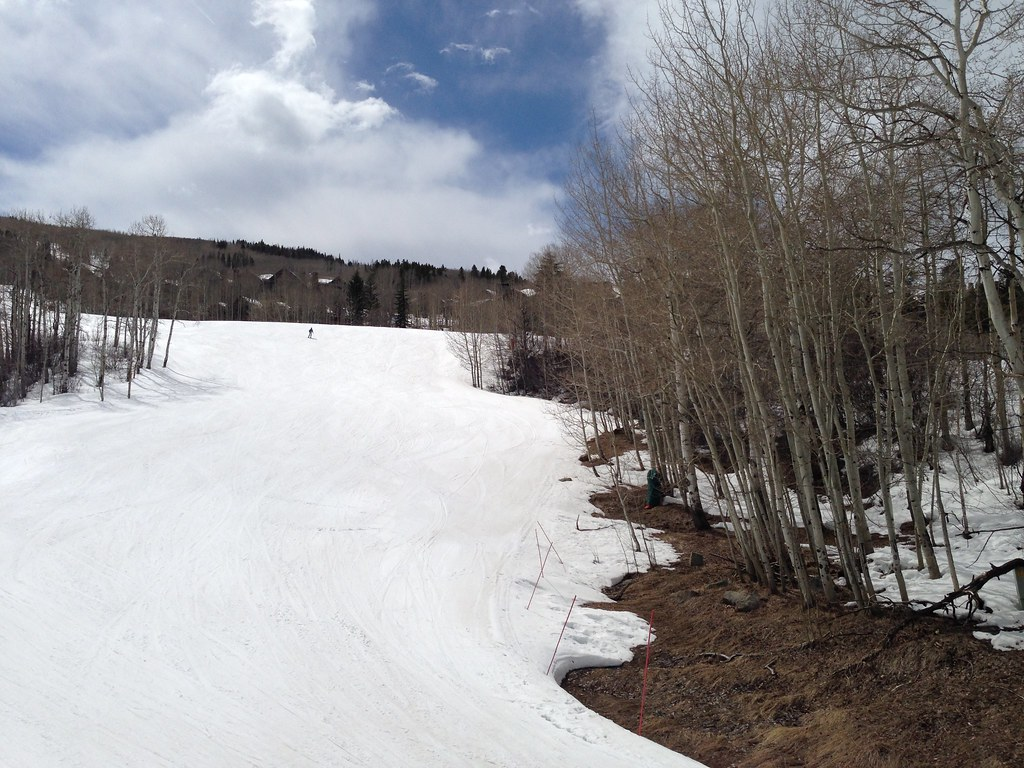 Ski trails at Bachelor Gulch