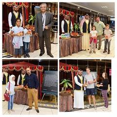 بمناسبة حلول منتصف شهر رمضان الكريم ، أقامت شركة مطار البحرين احتفالية بمناسبة القرقاعون للمسافرين في خيمتها الرمضانية بمطار البحرين الدو�