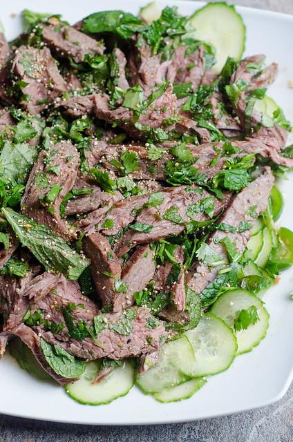 Pink Parsley: Thai Grilled Steak Salad