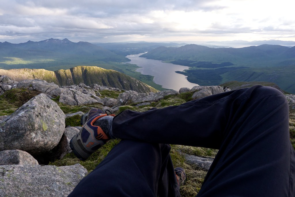 Relaxing above Loch Etive