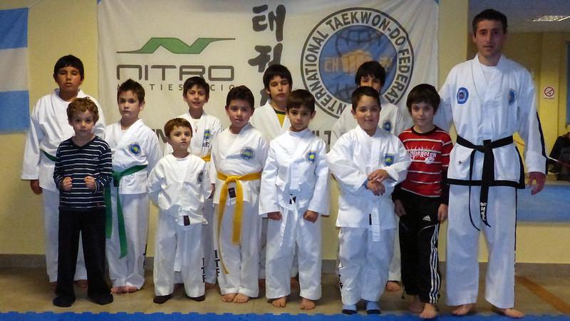 """Taekwondo: """"Dejar todo en cada entrenamiento"""""""