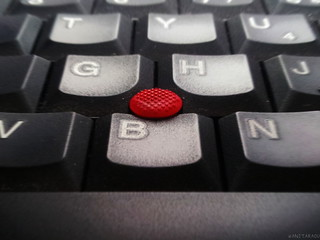 Trackpoint on a laptop