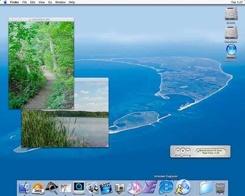 Mac OS X 10.1 Puma, 2001
