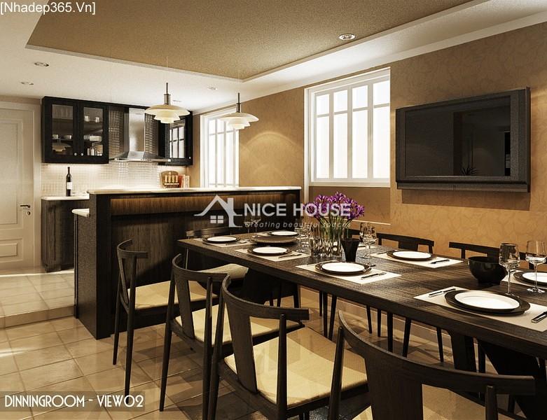Thiết kế nội thất căn hộ Hàng Trống - Hà Nội_03