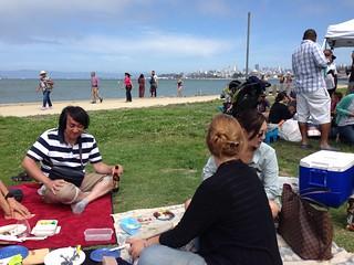 NHK picnic