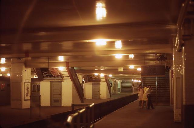 H & M/PATH Subway Station at Hudson Terminal 1967