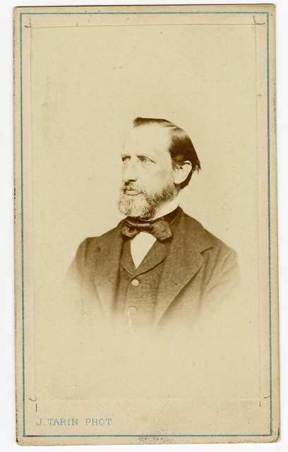 A portrait of Henri Nestlé (1867)