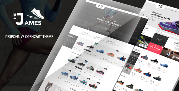 James v1.0 - Responsive Opencart Shoes Store Theme