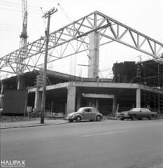 Halifax Metro Centre, construction