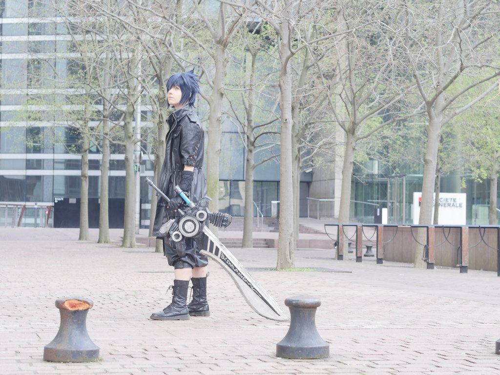 related image - Shooting Final Fantasy XV - La Défense -2017-04-01- P2030011