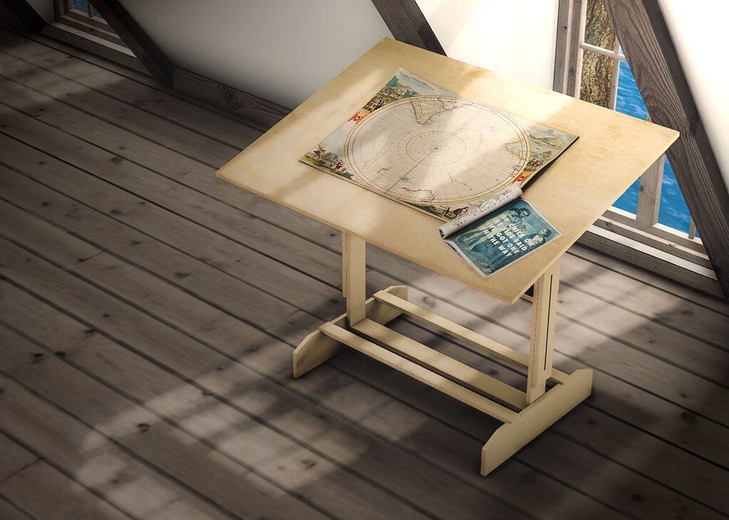 [DK] Picasso's Erotic Muse Art Desk (Adult) ? - SecondLifeHub.com