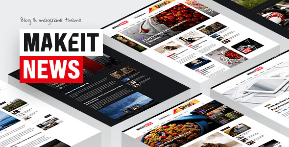 MakeIt WordPress Theme free download