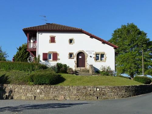 Masparraute ou Martxueta, Pyrénées-Atlantiques: mairie