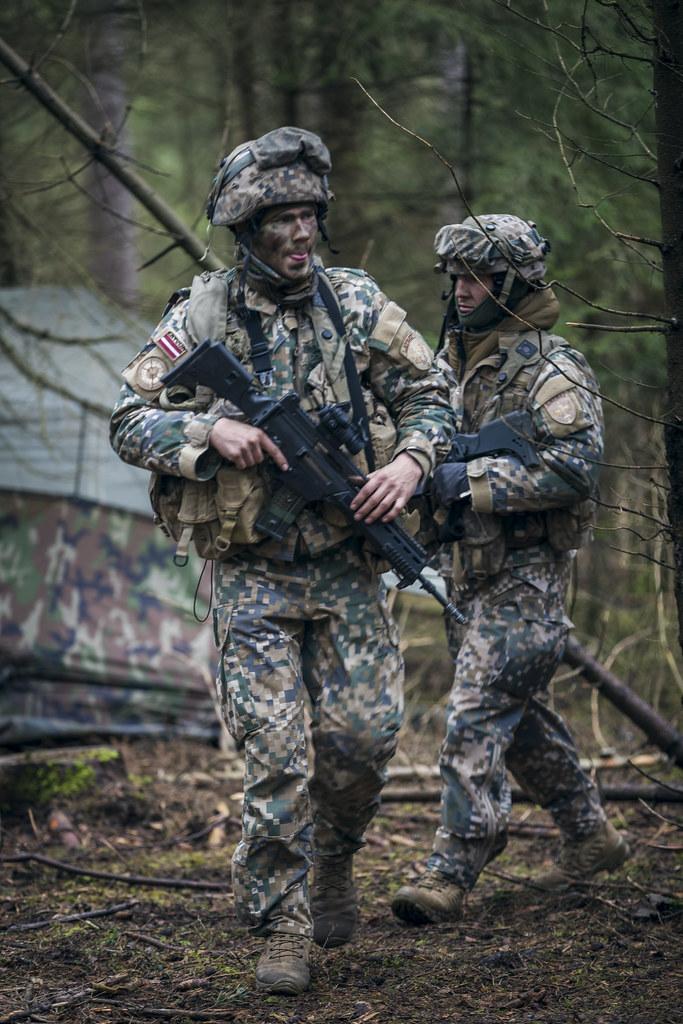 """Latvijas karavīri piedalās mācībās """"Allied Spirit VI"""""""