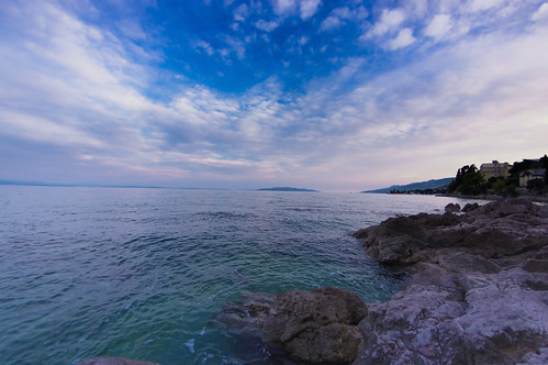 adriatic adriaticsea croatia hrvatska kvarner kvarnerbay pentax pentaxk3 rijeka volosko clouds coast colors landscape landscapes natural nature panorama panoramas sea sky spring sunset weather opatija primorskogoranskažupanija hr