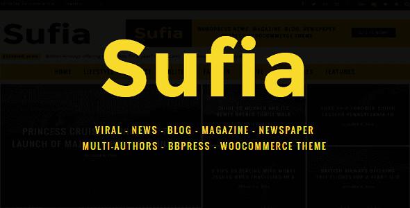 Sufia WordPress Theme free download