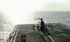 SH-3D prepares to take off