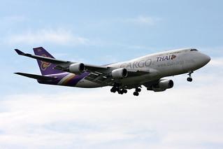 """Thai Cargo Boeing 747-4D7(BCF) HS-TGH """"Chaiprakarn"""""""