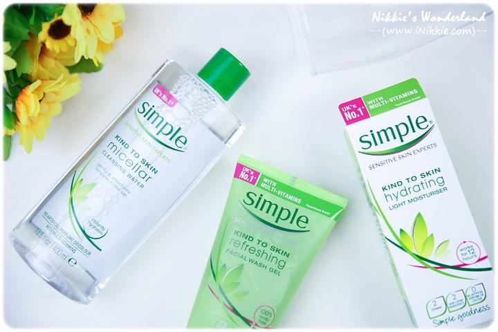 Simple 清妍親膚系列