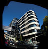 Car window view of Victorian Comprehensive Cancer Centre 2017 01