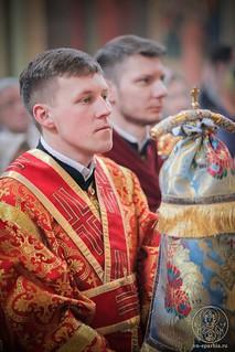 Литургия в Иверском монастыре 495