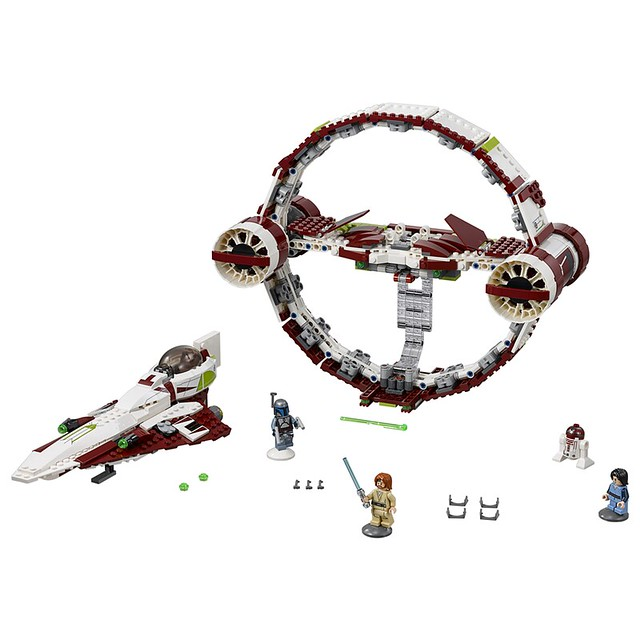 75191 Jedi Starfighter with Hyperdrive 2