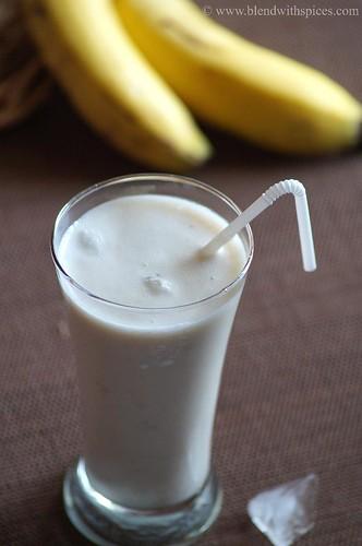Banana Lassi - Indian Yogurt Banana Drink