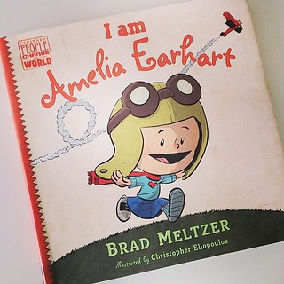 @bridgitod recommended this website - almightygirl.com the other day. Through it, I got the idea to get C this book, which turned out to be a great hit! C was inspired by Amelia's bravery and brains and hopes to be like here.