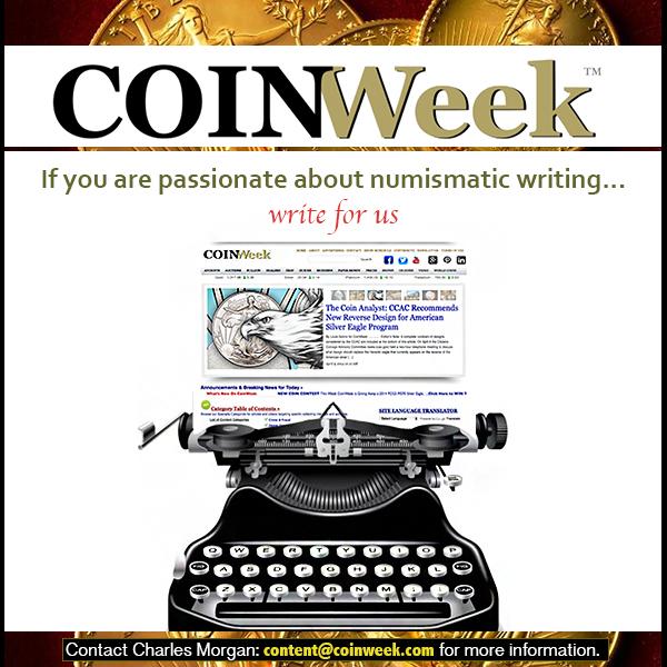 CoinWeek E-Sylum ad01
