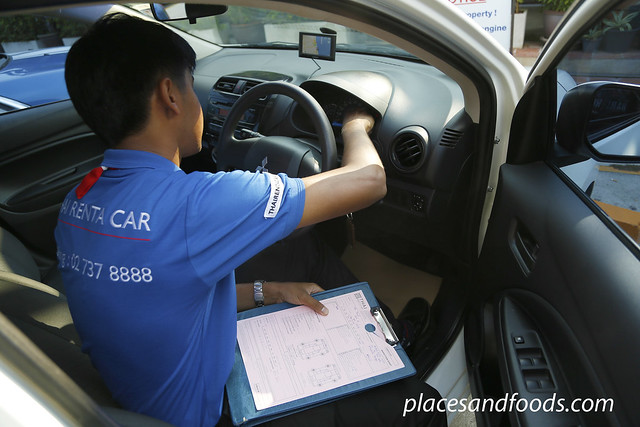 thai rent a car checking
