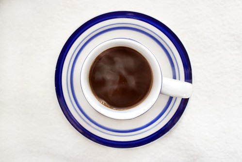 16/52 (2014): Hot cup of coffee in a hot coffee cup