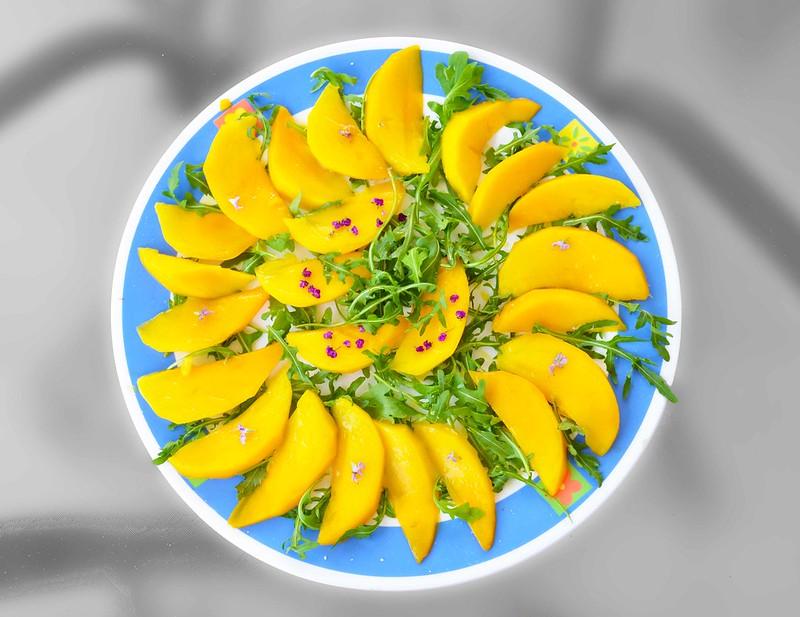 ensalada de mango de madre crossfitera