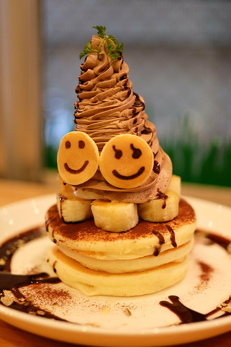 Carameliser chocolate banana  PANCAKE DAYs 25