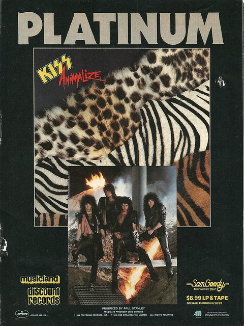 "Kiss ""Animalize"" (Released: 09/13/84)"