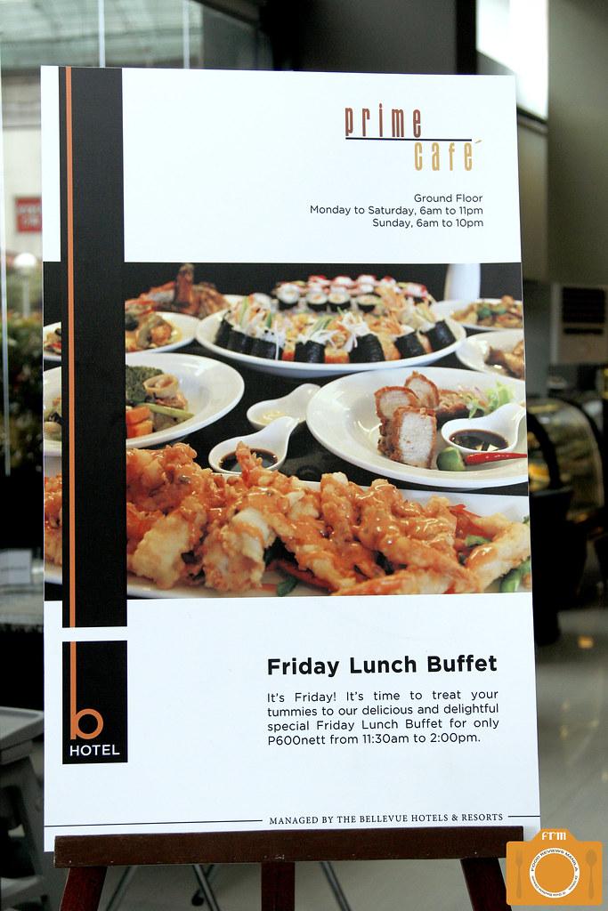 B Hotel Friday Lunch Buffet